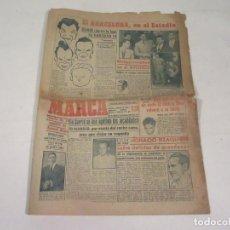 Coleccionismo deportivo: MARCA. DIARIO GRÁFICO DE LOS DEPORTES. NÚMERO 2165. 6 DE NOVIEMBRE DE 1949.. Lote 118583187