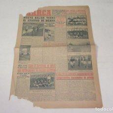 Coleccionismo deportivo: MARCA. DIARIO GRÁFICO DE LOS DEPORTES. NÚMERO 1924. 28 DE ENERO DE 1949.. Lote 118583367