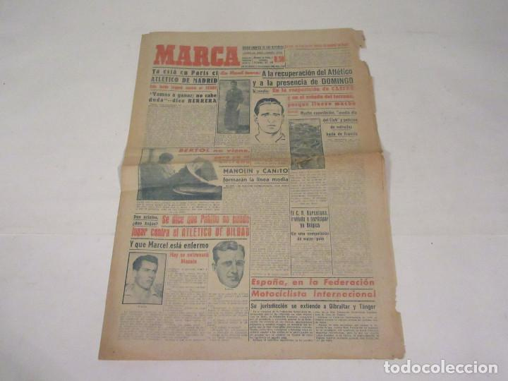 MARCA. DIARIO GRÁFICO DE LOS DEPORTES. NÚMERO 2169. 11 DE NOVIEMBRE DE 1949. (Coleccionismo Deportivo - Revistas y Periódicos - Marca)