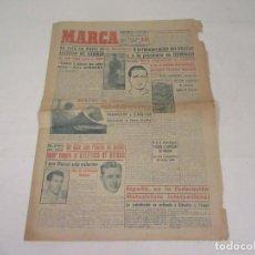 Coleccionismo deportivo: MARCA. DIARIO GRÁFICO DE LOS DEPORTES. NÚMERO 2169. 11 DE NOVIEMBRE DE 1949.. Lote 118583595
