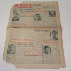 Coleccionismo deportivo: MARCA. DIARIO GRÁFICO DE LOS DEPORTES. NÚMERO 1925. 29 DE ENERO DE 1949.. Lote 118584235