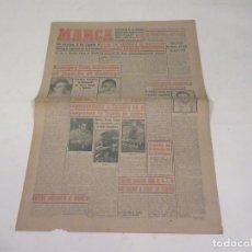 Coleccionismo deportivo: MARCA. DIARIO GRÁFICO DE LOS DEPORTES. NÚMERO 1934. 9 DE FEBRERO DE 1949.. Lote 118584459