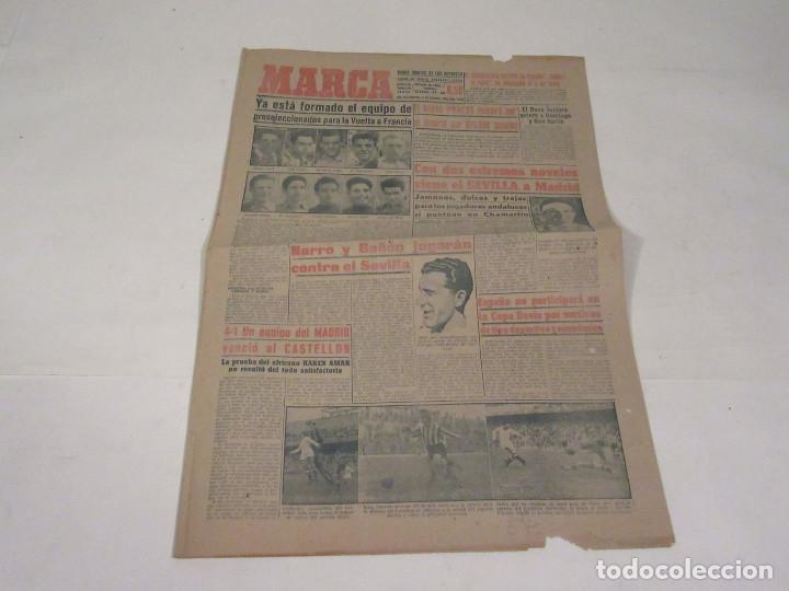 MARCA. DIARIO GRÁFICO DE LOS DEPORTES. NÚMERO 1936. 11 DE FEBRERO DE 1949. (Coleccionismo Deportivo - Revistas y Periódicos - Marca)