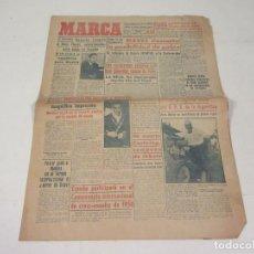 Coleccionismo deportivo: MARCA. DIARIO GRÁFICO DE LOS DEPORTES. NÚMERO 2166. 10 DE NOVIEMBRE DE 1949.. Lote 118584875