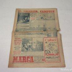 Coleccionismo deportivo: MARCA. DIARIO GRÁFICO DE LOS DEPORTES. NÚMERO 2028. 30 DE MAYO DE 1949.. Lote 118585123