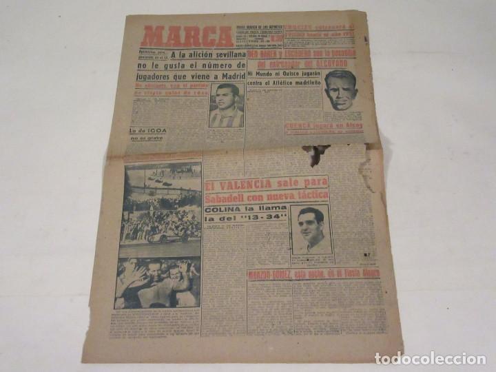 MARCA. DIARIO GRÁFICO DE LOS DEPORTES. NÚMERO 1937. 12 DE FEBRERO DE 1949. (Coleccionismo Deportivo - Revistas y Periódicos - Marca)