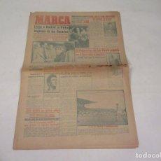 Coleccionismo deportivo: MARCA. DIARIO GRÁFICO DE LOS DEPORTES. NÚMERO 2173. 16 DE NOVIEMBRE DE 1949.. Lote 118585635