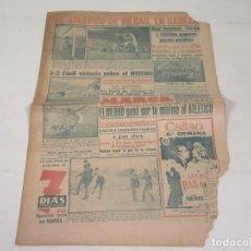 Coleccionismo deportivo: MARCA. DIARIO GRÁFICO DE LOS DEPORTES. NÚMERO 2136. 3 DE OCTUBRE DE 1949.. Lote 118586035