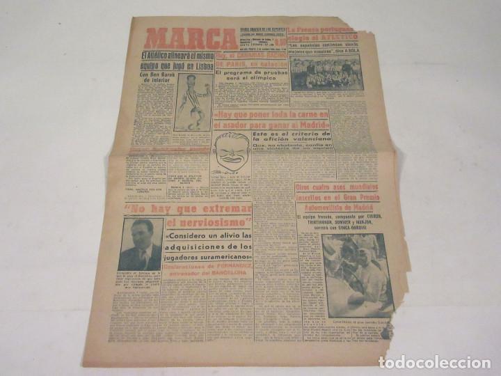MARCA. DIARIO GRÁFICO DE LOS DEPORTES. NÚMERO 2140. 8 DE OCTUBRE DE 1949. (Coleccionismo Deportivo - Revistas y Periódicos - Marca)