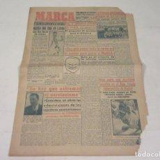 Coleccionismo deportivo: MARCA. DIARIO GRÁFICO DE LOS DEPORTES. NÚMERO 2140. 8 DE OCTUBRE DE 1949.. Lote 118586179