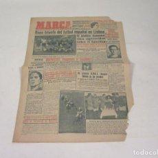 Coleccionismo deportivo: MARCA. DIARIO GRÁFICO DE LOS DEPORTES. NÚMERO 2138. 6 DE OCTUBRE DE 1949. INCOMPLETO.. Lote 118586831
