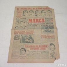 Coleccionismo deportivo: MARCA. DIARIO GRÁFICO DE LOS DEPORTES. NÚMERO 2141. 9 DE OCTUBRE DE 1949. . Lote 118586959