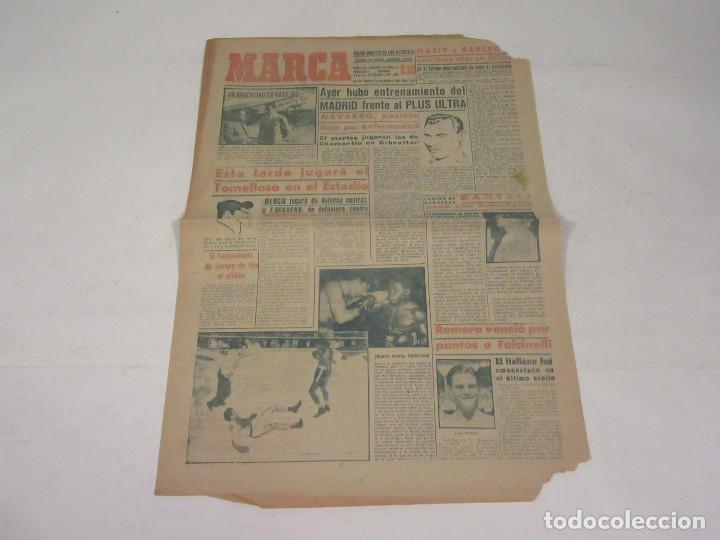 MARCA. DIARIO GRÁFICO DE LOS DEPORTES. NÚMERO 2150. 20 DE OCTUBRE DE 1949. (Coleccionismo Deportivo - Revistas y Periódicos - Marca)
