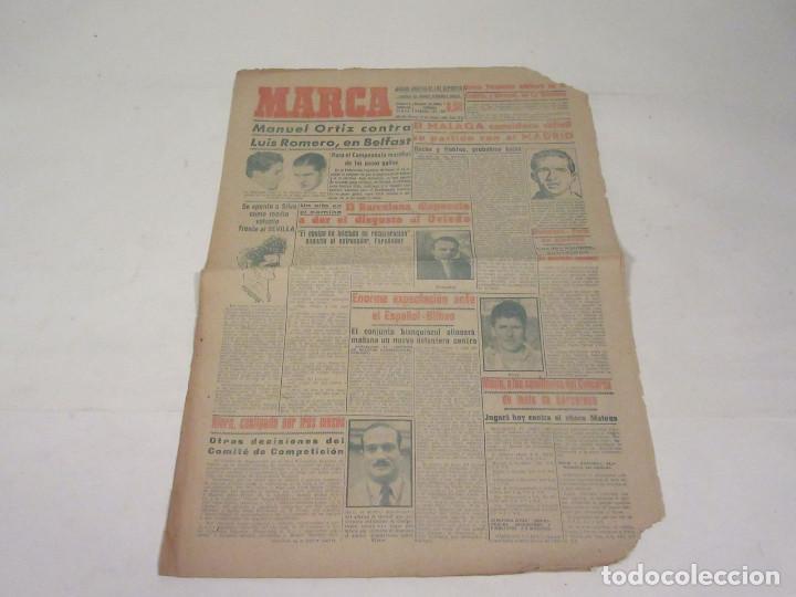 MARCA. DIARIO GRÁFICO DE LOS DEPORTES. NÚMERO 2152. 22 DE OCTUBRE DE 1949. (Coleccionismo Deportivo - Revistas y Periódicos - Marca)