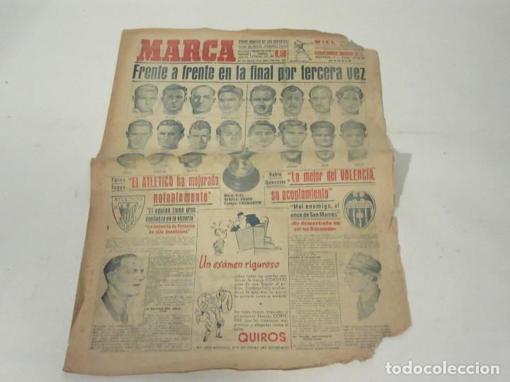 MARCA. DIARIO GRÁFICO DE LOS DEPORTES. NÚMERO 20#7. 29 DE MAYO DE 1949. (Coleccionismo Deportivo - Revistas y Periódicos - Marca)
