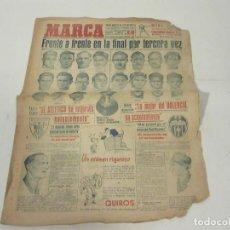 Coleccionismo deportivo: MARCA. DIARIO GRÁFICO DE LOS DEPORTES. NÚMERO 20#7. 29 DE MAYO DE 1949.. Lote 118587591