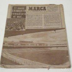 Coleccionismo deportivo: MARCA. SEMANARIO GRÁFICO DE LOS DEPORTES. NÚMERO 259. 18 DE NOVIEMBRE DE 1947.. Lote 118587887