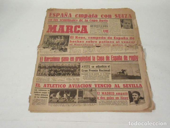 MARCA. DIARIO GRÁFICO DE LOS DEPORTES. NÚMERO 1073. 6 DE MAYO DE 1946. (Coleccionismo Deportivo - Revistas y Periódicos - Marca)
