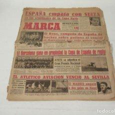Coleccionismo deportivo: MARCA. DIARIO GRÁFICO DE LOS DEPORTES. NÚMERO 1073. 6 DE MAYO DE 1946.. Lote 118588087
