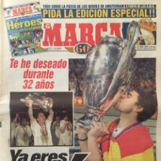 Coleccionismo deportivo: MARCA.21/5/1998. FINAL CHAMPIONS. JUVENTUS,0-REAL MADRID,1. Lote 118781947