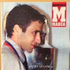 Coleccionismo deportivo: MARCA.MAYO 2002. FINAL CHAMPIONS. BAYER LEVERKUSEN,1-REAL MADRID,2. DOCUMENTO MARCA. Lote 118783894