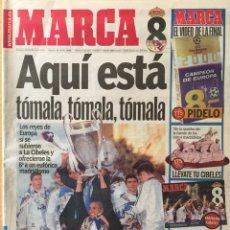 Coleccionismo deportivo: MARCA.26/5/2000. FINAL CHAMPIONS. R.MADRID-VALENCIA. Lote 118803144