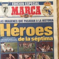 Coleccionismo deportivo: MARCA.21/5/1998. FINAL CHAMPIONS.JUVENTUS,0-REAL MADRID,1.EDICION ESPECIAL. Lote 118803780