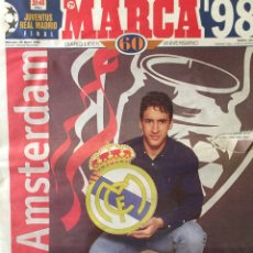Coleccionismo deportivo: MARCA.20/5/1998. HOY FINAL CHAMPIONS. JUVENTUS-REAL MADRID. Lote 118804484