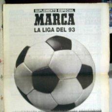 Coleccionismo deportivo: APENDICE MARCA LIGA 93-94. Lote 118854755