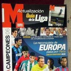Coleccionismo deportivo: GUIA MARCA LIGA DE CAMPEONES 06. Lote 118855003