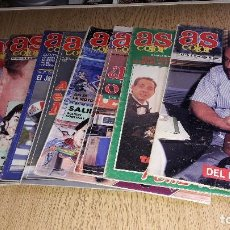 Coleccionismo deportivo: REVISTA AS COLOR...LOTE NÚMERO 1...9 REVISTAS...AÑO. 89-90-91-92.... Lote 118997103