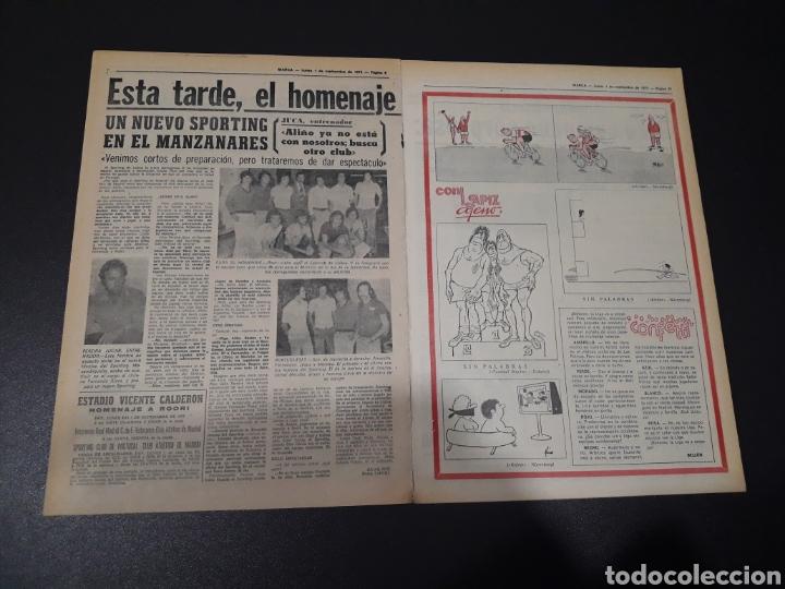 Coleccionismo deportivo: MARCA. 1/09/1975. FINAL CARRANZA. PALMEIRAS,3 - R.MADRID,1. ZARAGOZA,3 - DINAMO KIEV,0. - Foto 5 - 119047214