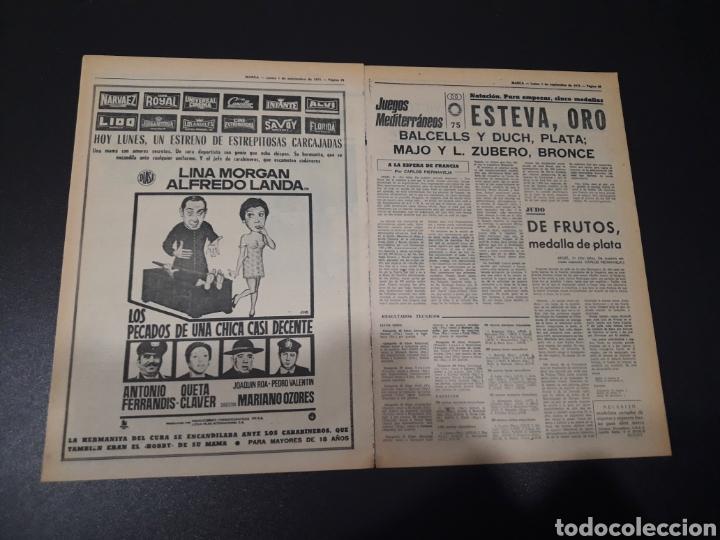 Coleccionismo deportivo: MARCA. 1/09/1975. FINAL CARRANZA. PALMEIRAS,3 - R.MADRID,1. ZARAGOZA,3 - DINAMO KIEV,0. - Foto 7 - 119047214
