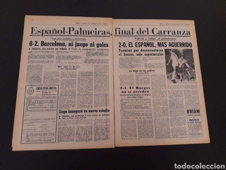 Coleccionismo deportivo: MARCA. 1/09/1974. CARRANZA. BODAS ORO ALAVÉS. BILBAO,2 - REAL SOCIEDAD,1. - Foto 3 - 119097080