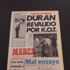 Coleccionismo deportivo: MARCA. 4/09/1974. REAL MADRID,3 - DINAMO ZAGREB,4.. Lote 119097808