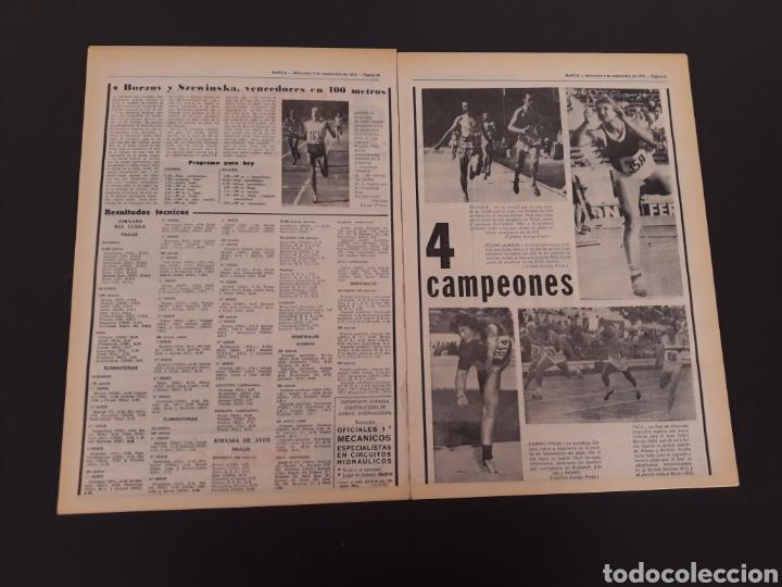 Coleccionismo deportivo: MARCA. 4/09/1974. REAL MADRID,3 - DINAMO ZAGREB,4. - Foto 8 - 119097808