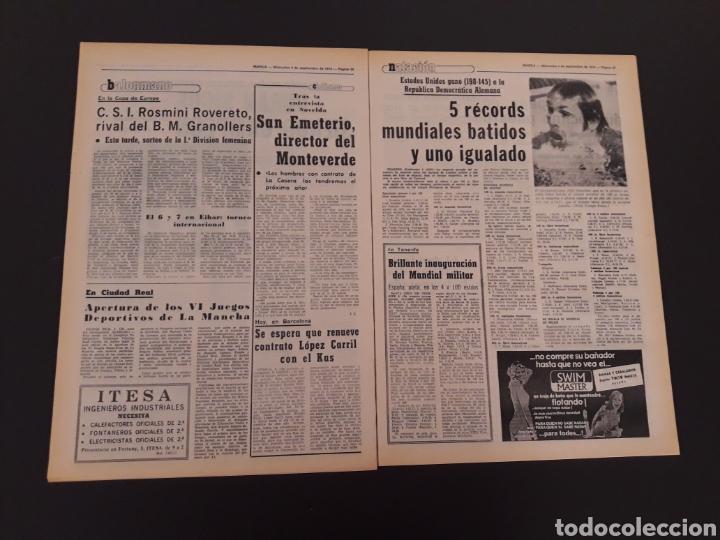 Coleccionismo deportivo: MARCA. 4/09/1974. REAL MADRID,3 - DINAMO ZAGREB,4. - Foto 10 - 119097808