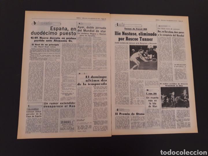 Coleccionismo deportivo: MARCA. 4/09/1974. REAL MADRID,3 - DINAMO ZAGREB,4. - Foto 11 - 119097808