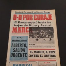 Coleccionismo deportivo: MARCA. 23/10/1974. COPA EUROPA. FEYENOORD,0 - BARCELONA,0.. Lote 119099740