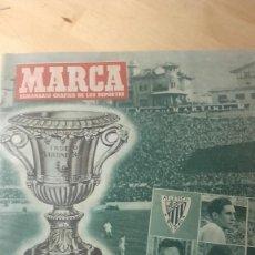 Coleccionismo deportivo: MARCA. SEMANARIO GRAFICO DEPORTIVO. 472 18 DICIEMBRE 1951. ATLETICO BILBAO. ESPECIAL 68 PAGINAS.. Lote 119139131