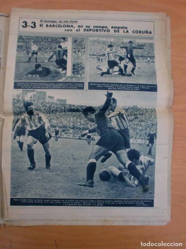 Coleccionismo deportivo: 19/10/1943 Nº 47 MADRID 3 AT. AVIACION 2 VALENCIA 8 SEVILLA 0 SABADELL 1 CASTELLON 0 LUCHA LIBRE - Foto 7 - 119546523
