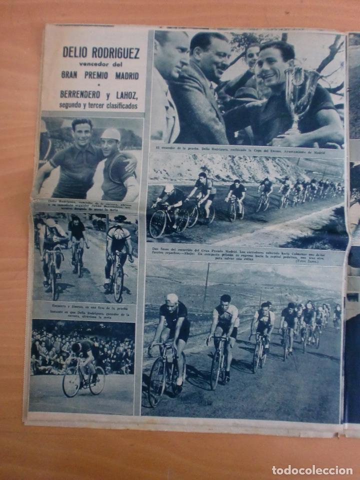 Coleccionismo deportivo: 19/10/1943 Nº 47 MADRID 3 AT. AVIACION 2 VALENCIA 8 SEVILLA 0 SABADELL 1 CASTELLON 0 LUCHA LIBRE - Foto 13 - 119546523