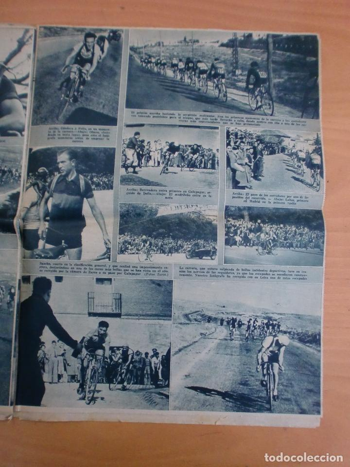 Coleccionismo deportivo: 19/10/1943 Nº 47 MADRID 3 AT. AVIACION 2 VALENCIA 8 SEVILLA 0 SABADELL 1 CASTELLON 0 LUCHA LIBRE - Foto 14 - 119546523