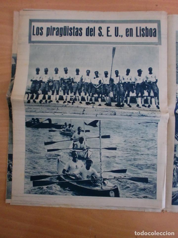 Coleccionismo deportivo: 19/10/1943 Nº 47 MADRID 3 AT. AVIACION 2 VALENCIA 8 SEVILLA 0 SABADELL 1 CASTELLON 0 LUCHA LIBRE - Foto 15 - 119546523