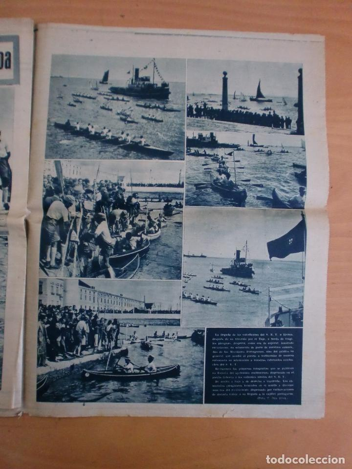 Coleccionismo deportivo: 19/10/1943 Nº 47 MADRID 3 AT. AVIACION 2 VALENCIA 8 SEVILLA 0 SABADELL 1 CASTELLON 0 LUCHA LIBRE - Foto 16 - 119546523