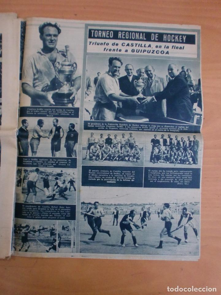 Coleccionismo deportivo: 19/10/1943 Nº 47 MADRID 3 AT. AVIACION 2 VALENCIA 8 SEVILLA 0 SABADELL 1 CASTELLON 0 LUCHA LIBRE - Foto 17 - 119546523