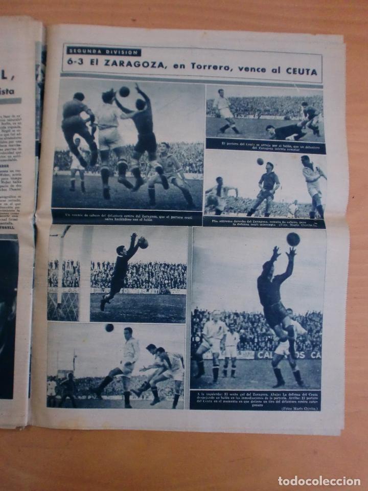 Coleccionismo deportivo: 19/10/1943 Nº 47 MADRID 3 AT. AVIACION 2 VALENCIA 8 SEVILLA 0 SABADELL 1 CASTELLON 0 LUCHA LIBRE - Foto 18 - 119546523