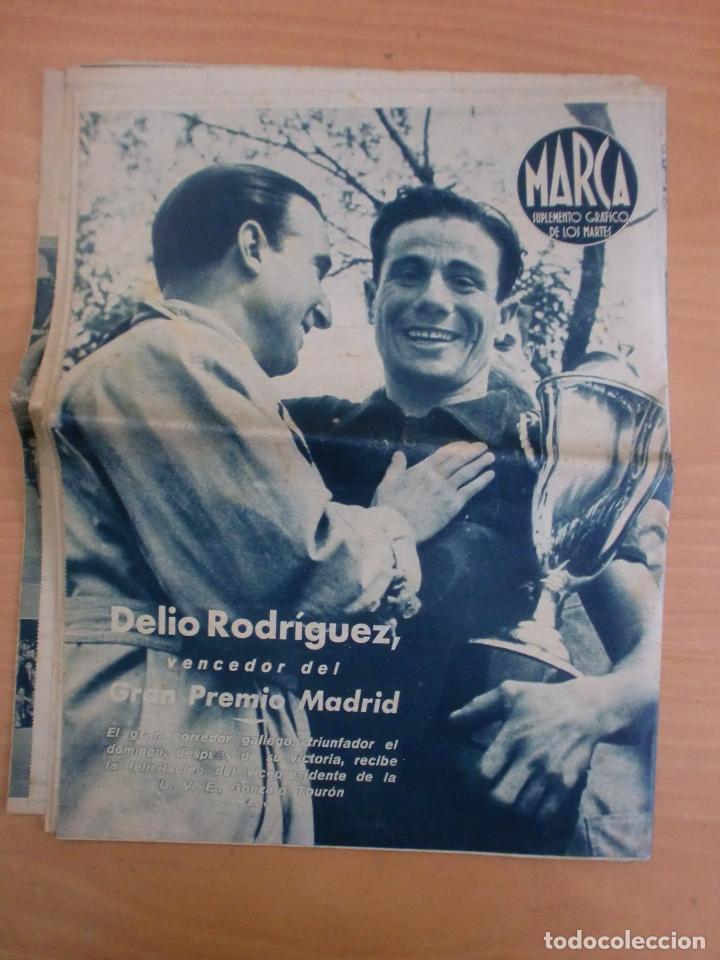 Coleccionismo deportivo: 19/10/1943 Nº 47 MADRID 3 AT. AVIACION 2 VALENCIA 8 SEVILLA 0 SABADELL 1 CASTELLON 0 LUCHA LIBRE - Foto 21 - 119546523