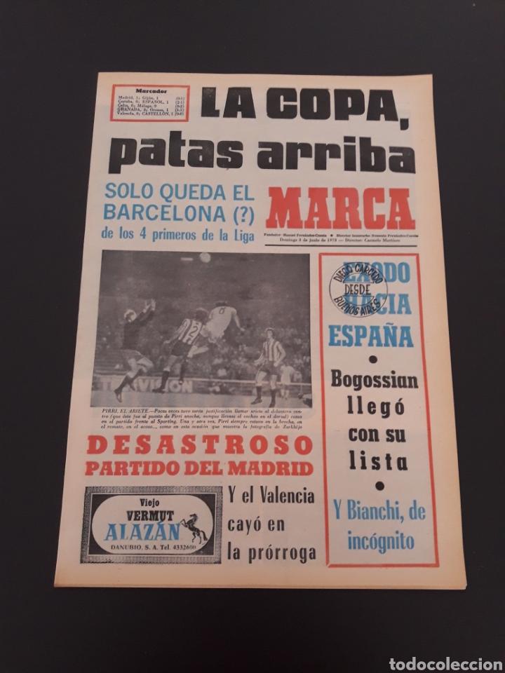 marca. 3 06 1973. copa. r.madrid 7b5b44845b723