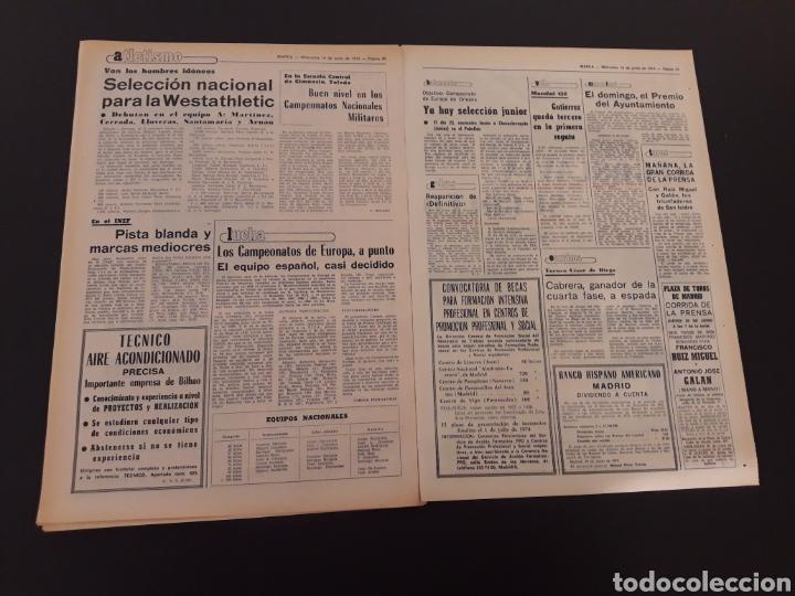 Marca. 19/06/1974. semifinal copa. r.madrid,5 - - Verkauft ...